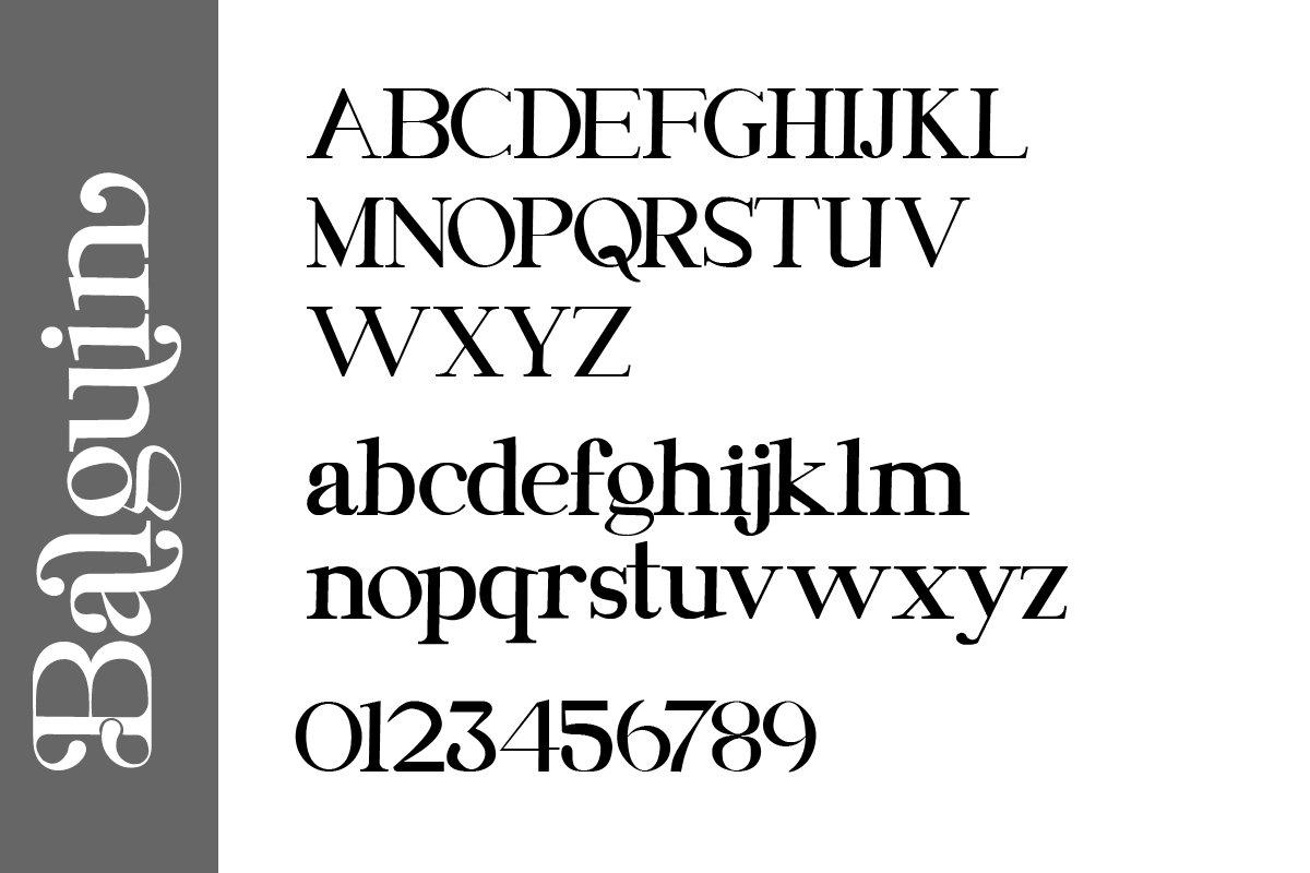 Balguin Serif Font-3