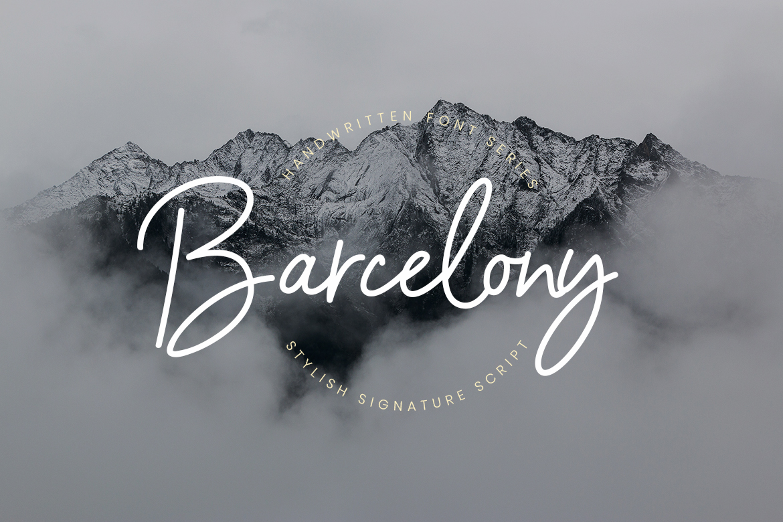 Barcelony SignatuAre Script Font-1