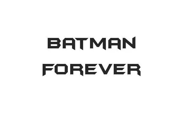 Batman Forever Techno Font-1