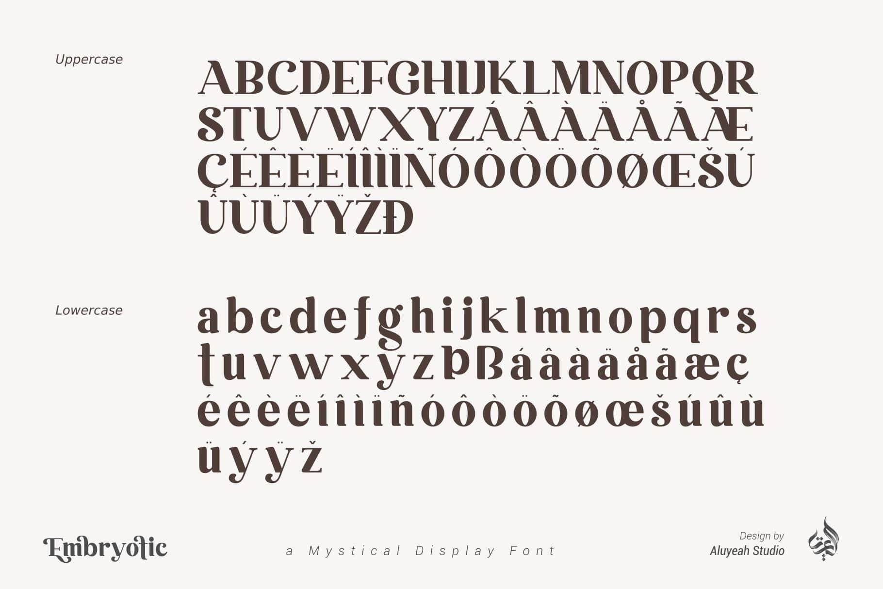 Bonjour Mystical Display Font-3