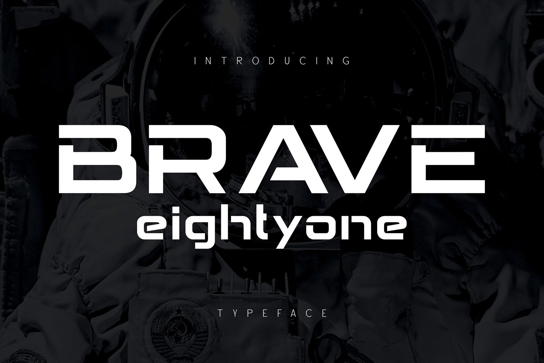 Brave Eighty One Display Font-1