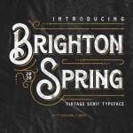 Brighton Spring Serif Typeface