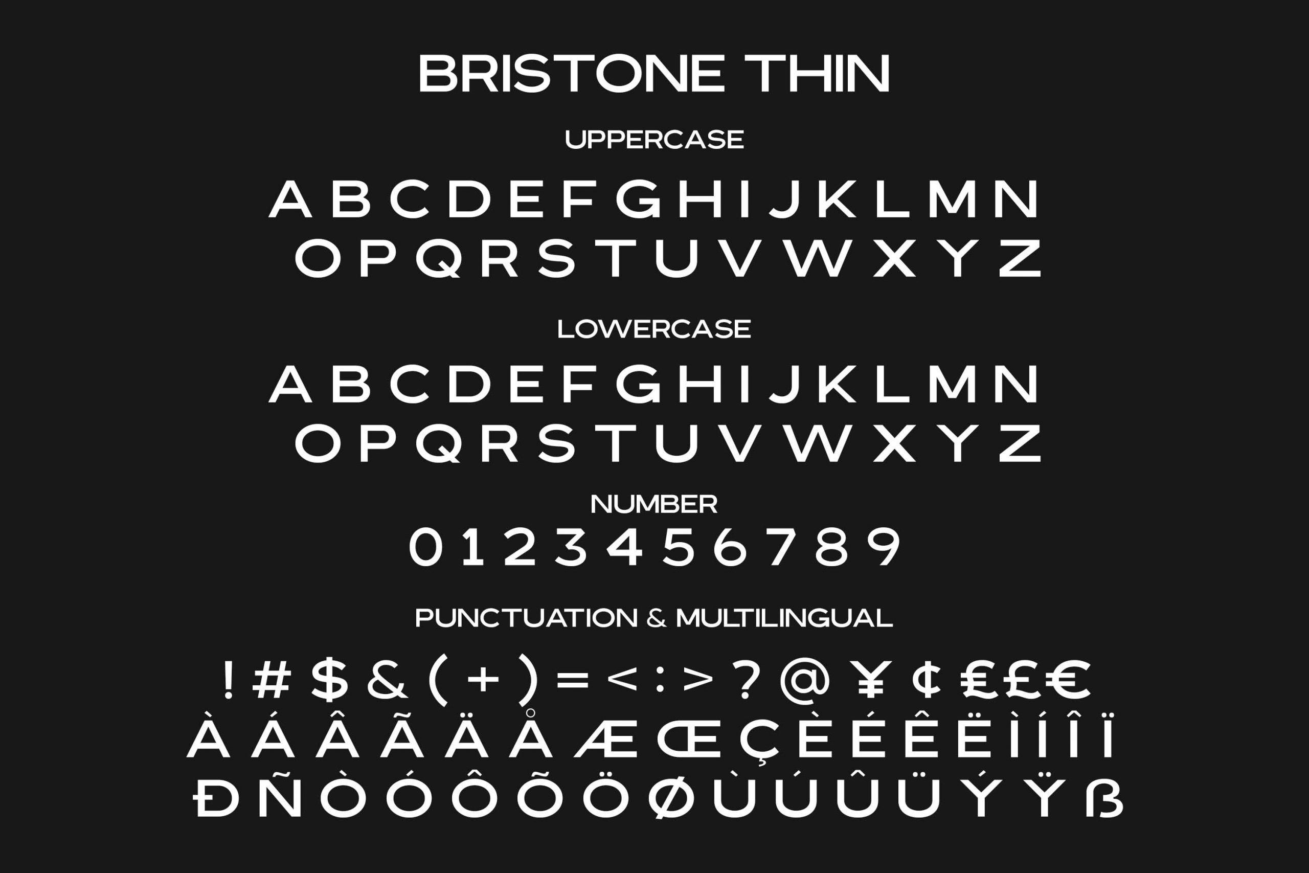 Bristone Sans Display Typeface-4