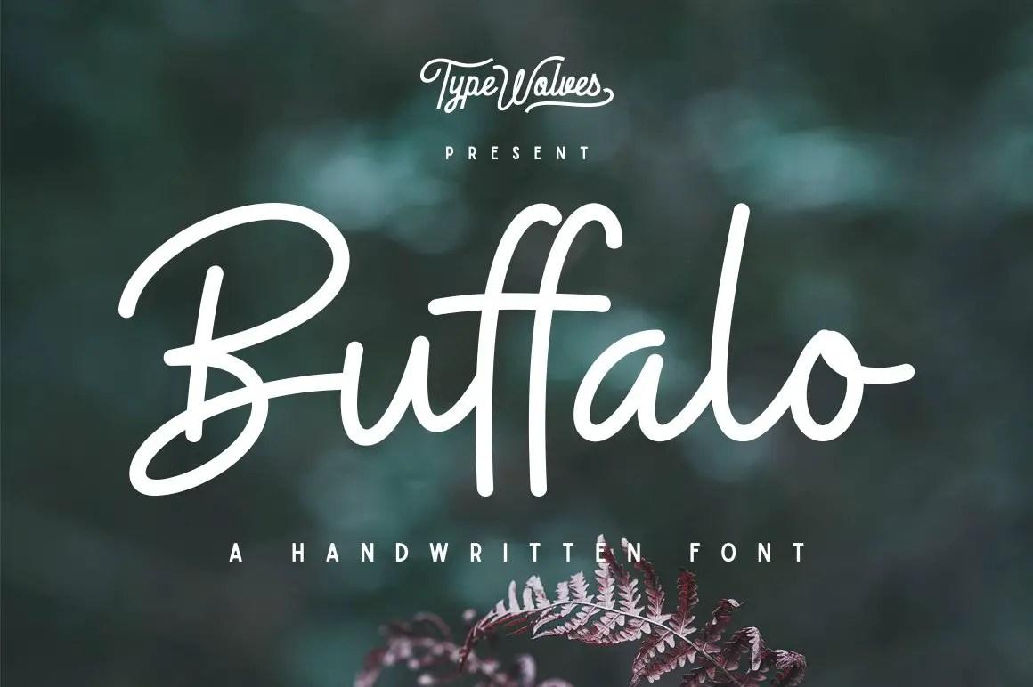 Buffalo Handwritten Font-1