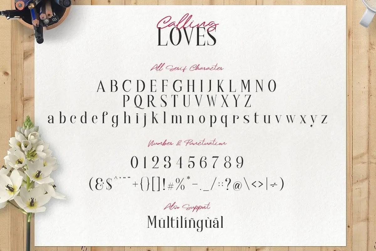 Calling Loves Script Font Duo-4 (1)
