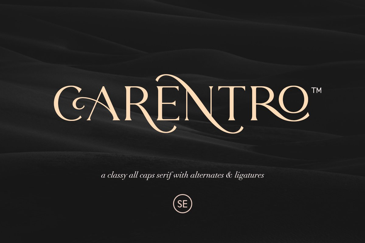 Carentro Classy Serif Typeface-1