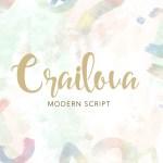 Crailova Script Handwritten Font