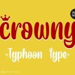 Crowny Script Font