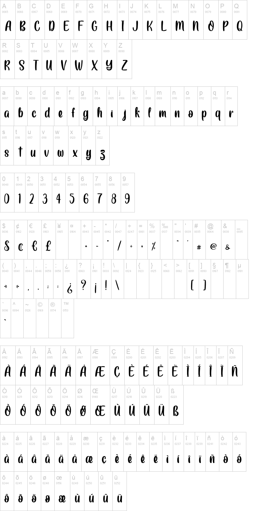 Crowny Script Font-2