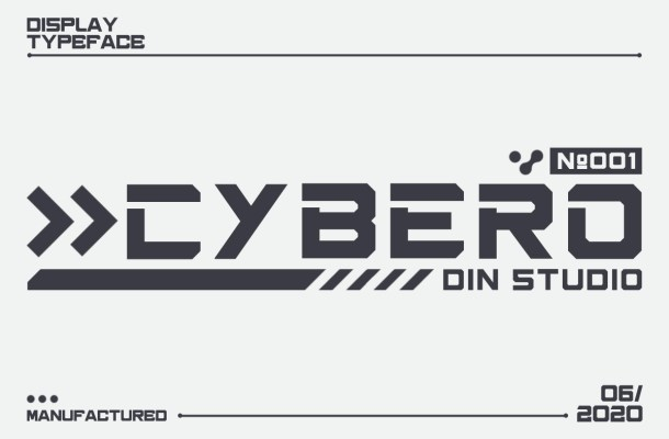 Cybero Display Typeface