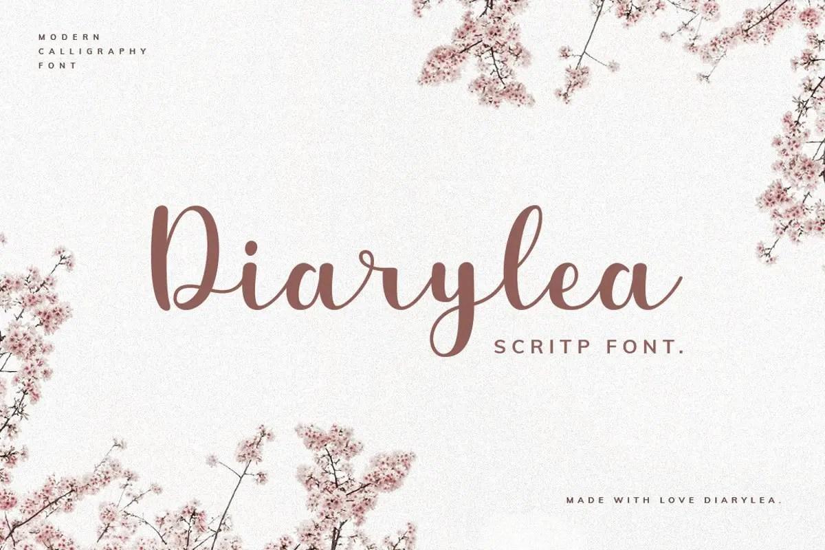 Diarylea-Script-Font