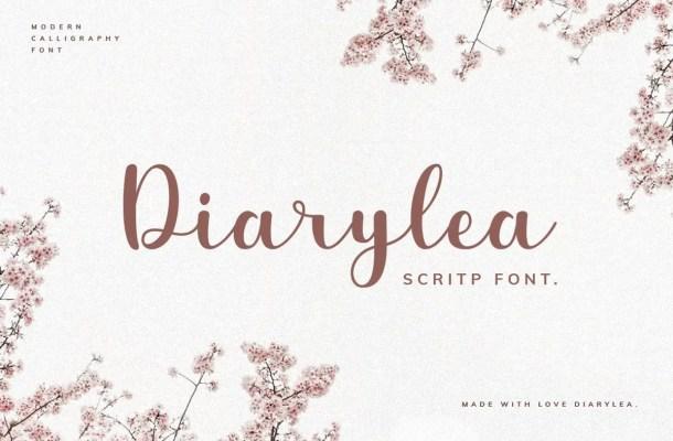 Diarylea Script Font