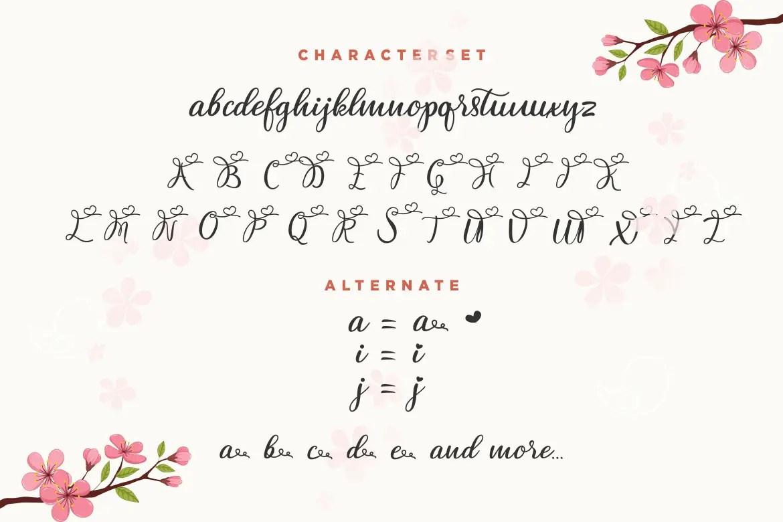Femina Script Handwritten Font-3