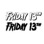 Friday 13  Fancy Font