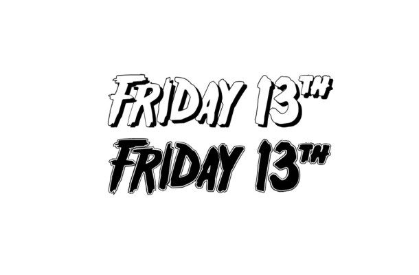 Friday 13  Fancy Font