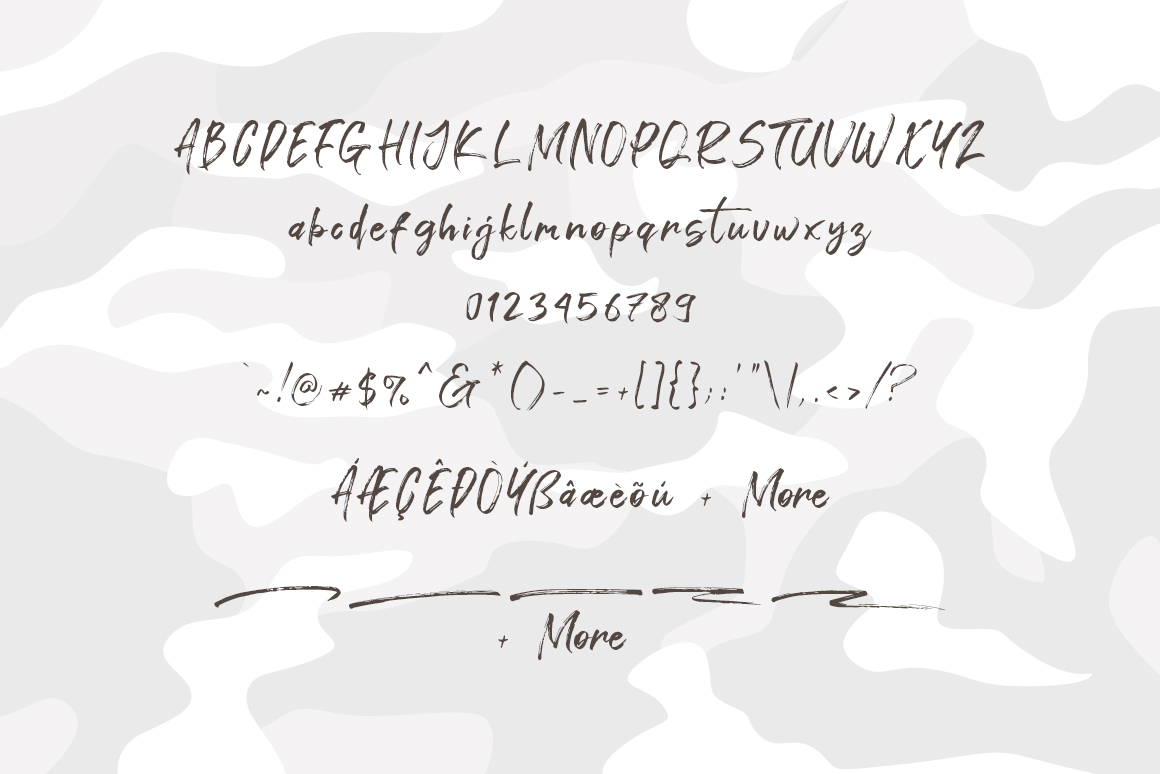 Gathan Brush Script Font-3