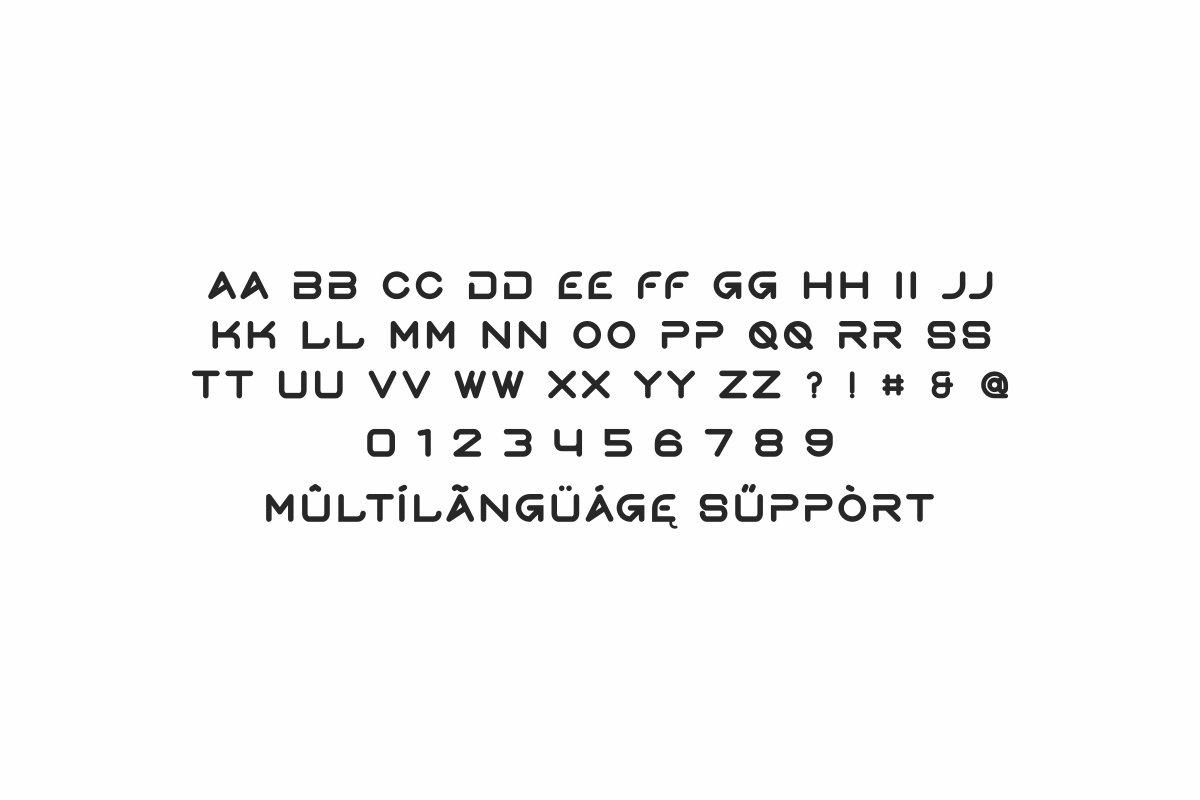 Gerth Sans Serif Typeface-3