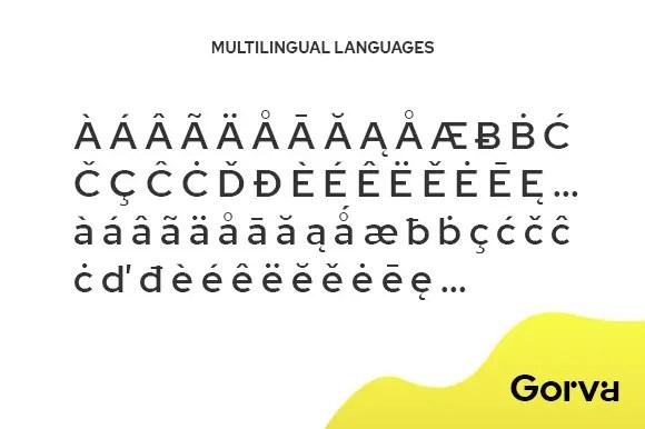 Gorva Sans Serif Font-3