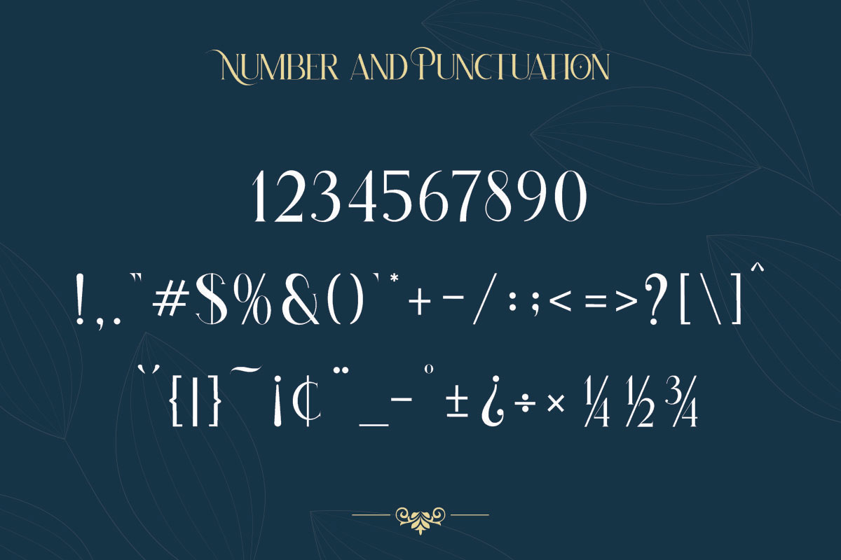 Hatolie - Elegant And Luxuries Typeface-4