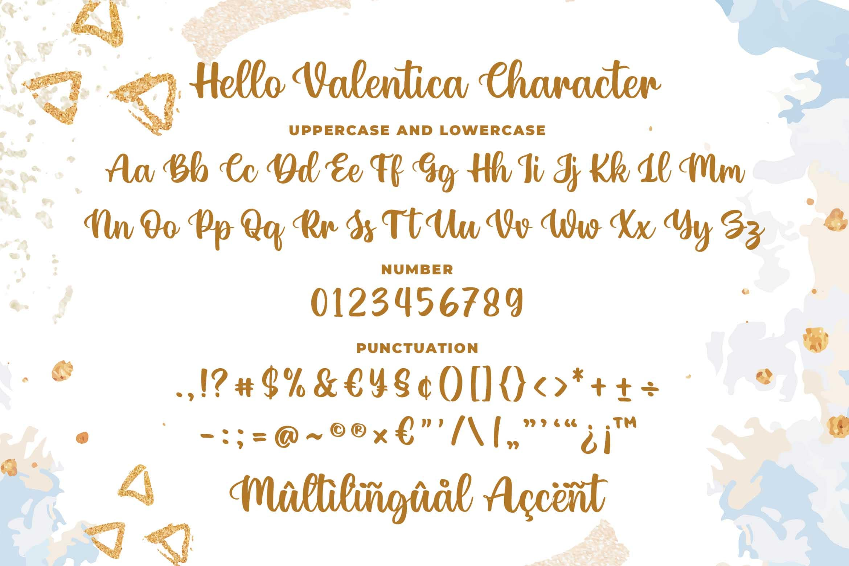 Hello Valentica a Beauty Calligraphy Script Font-3