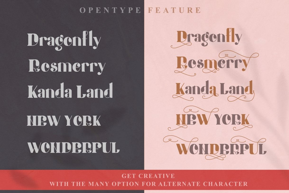 Honey Batterfly Display Font-3