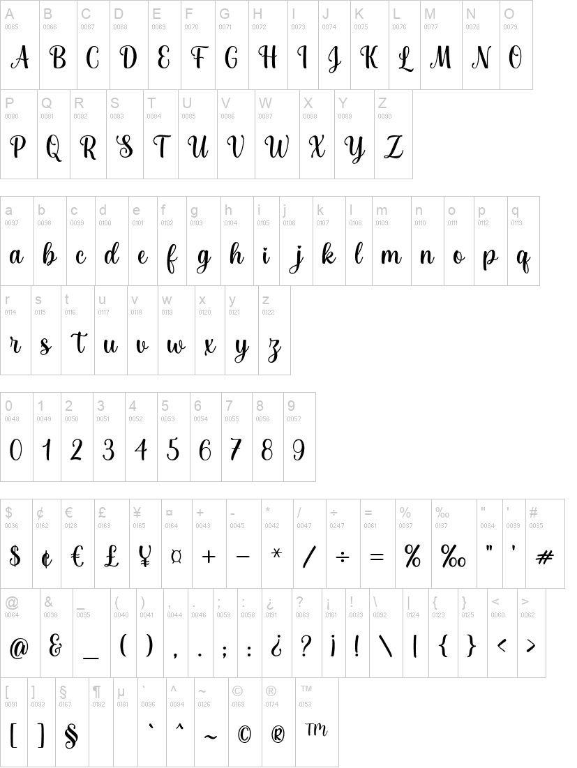 Joseph Sophia Calligraphy Script Font-3