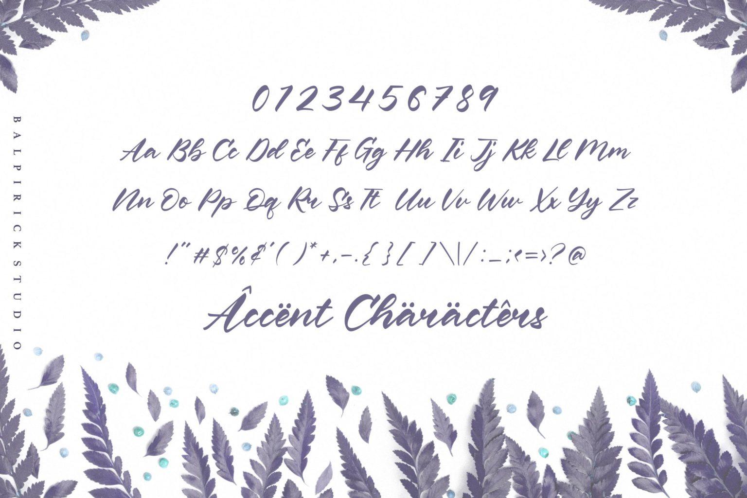 Keith Gordon Modern Calligraphy Font-3