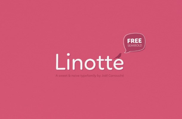 Linotte Sans Serif Font family
