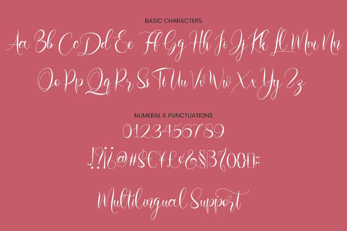 Loffers Calligraphy Script Font-3