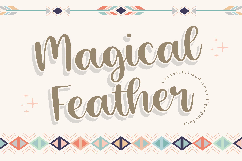 Magical Feather Handwritten Script Font-1
