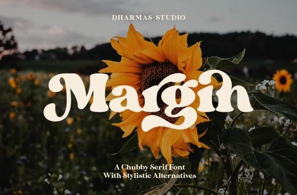Margin Retro Serif Font