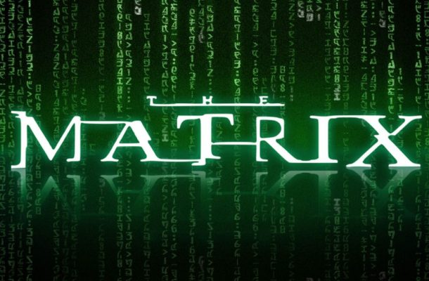 Matrix Distorted Fancy Font