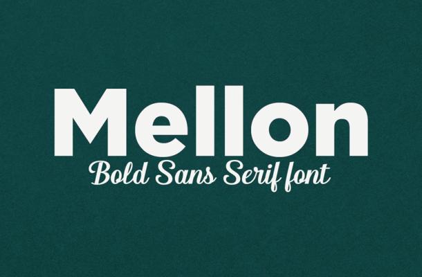 Mellon Sans serif Font