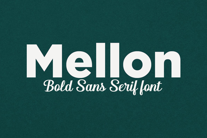 Mellon Sans serif Font-1