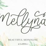 Mellyna Handwritten Script Font