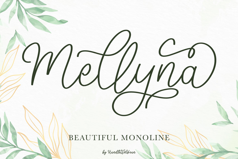 Mellyna Handwritten Script Font-1