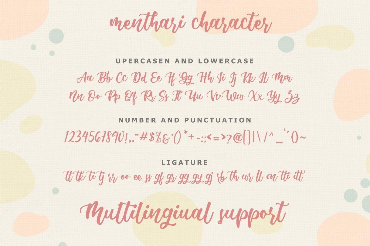 Menthari Lovely Handwritten Font-3