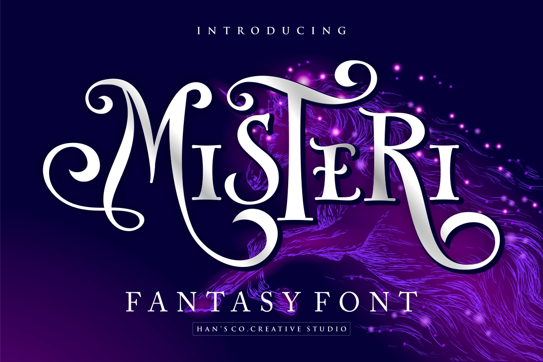 Misteri Display Font-1