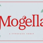 Mogella Serif Typeface