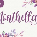 Monthella Calligraphy Script Font