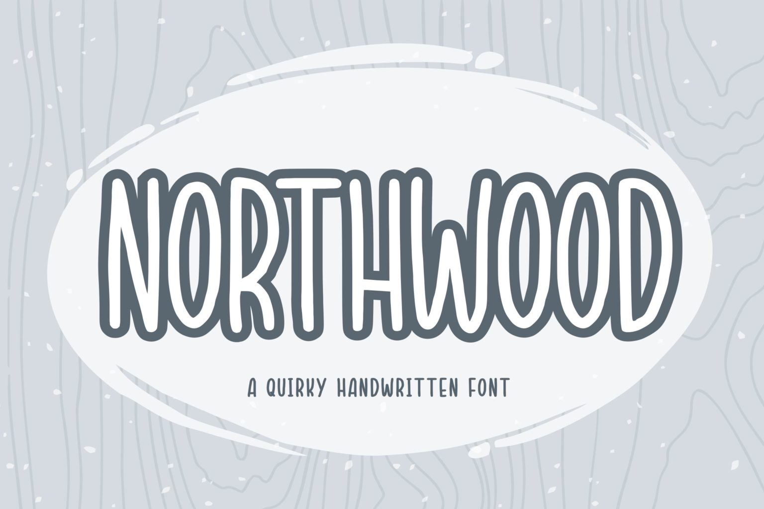 Northwood Quirky Handwritten Font-1