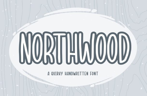 Northwood Quirky Handwritten Font