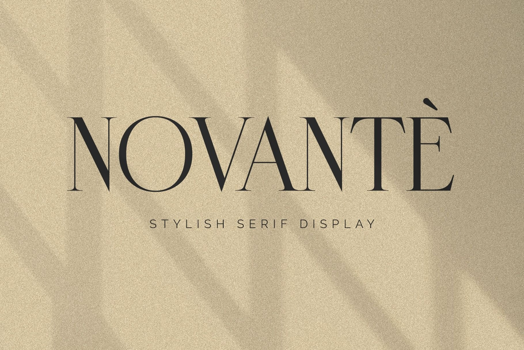 Novante Stylish Display Serif Font-1