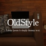 OldStyle Serif Font Family
