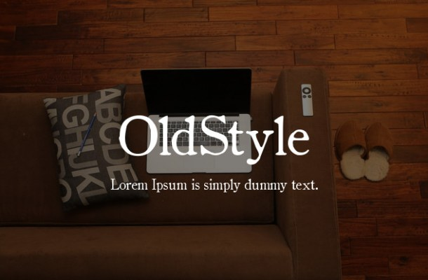 OldStyle Font Family