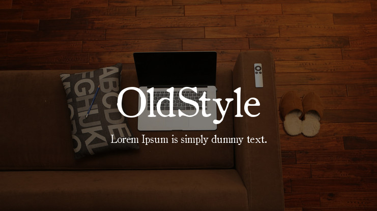 OldStyle Font Family-1
