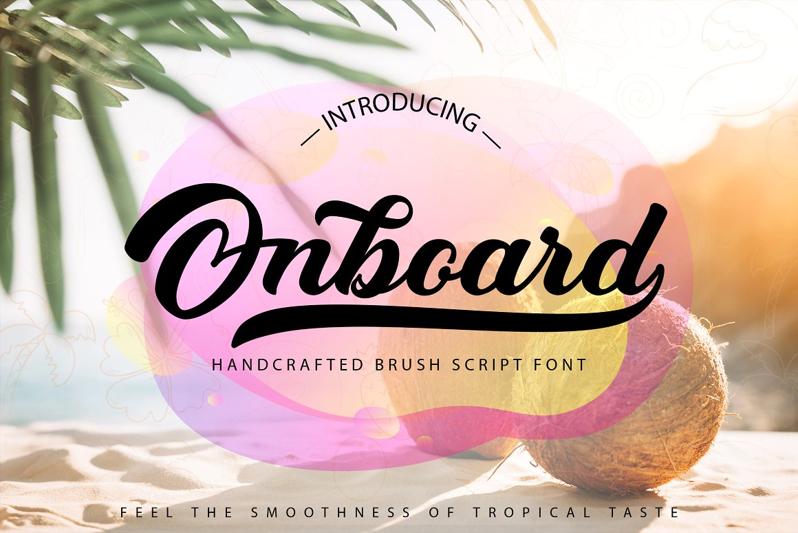 Onboard Smooth Script Font-1