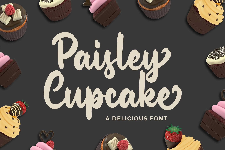Paisley Cupkace Script Font-1