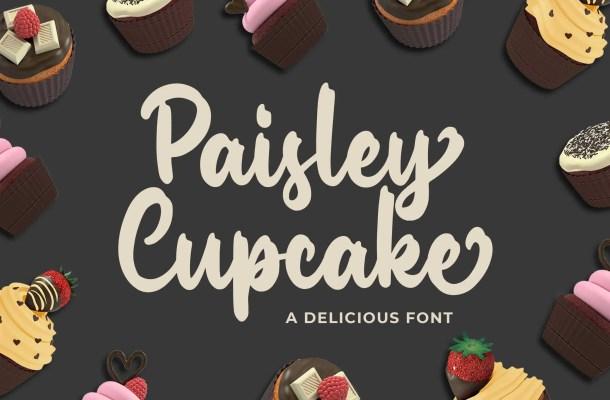 Paisley Cupkace Script Font