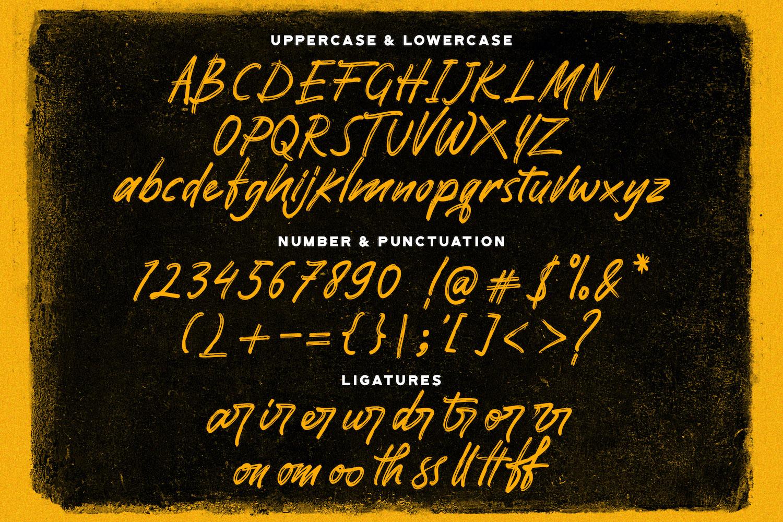Pomthinq Brush Script Font-3